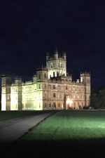 The night lights of Highclere