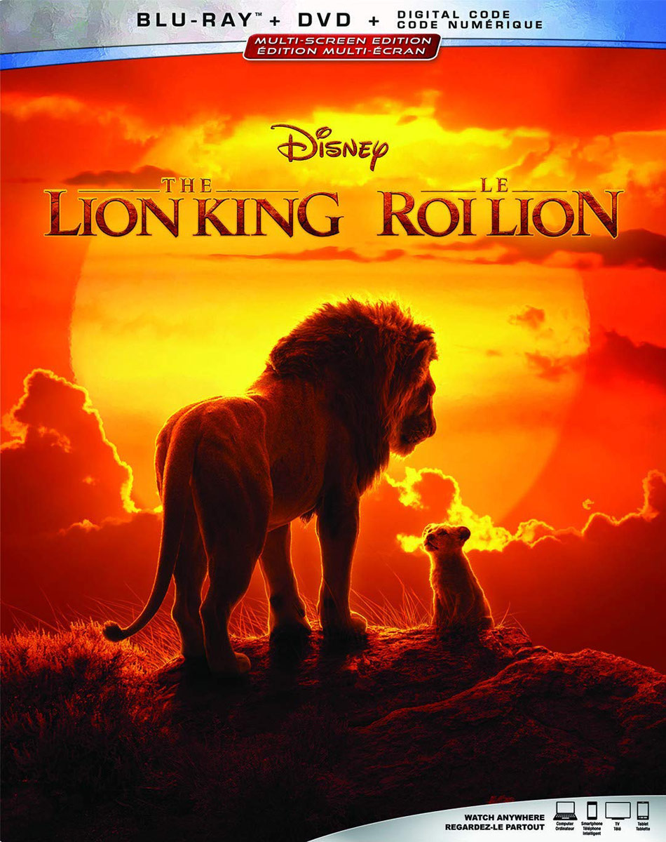 The Lion King on Blu-ray/DVD