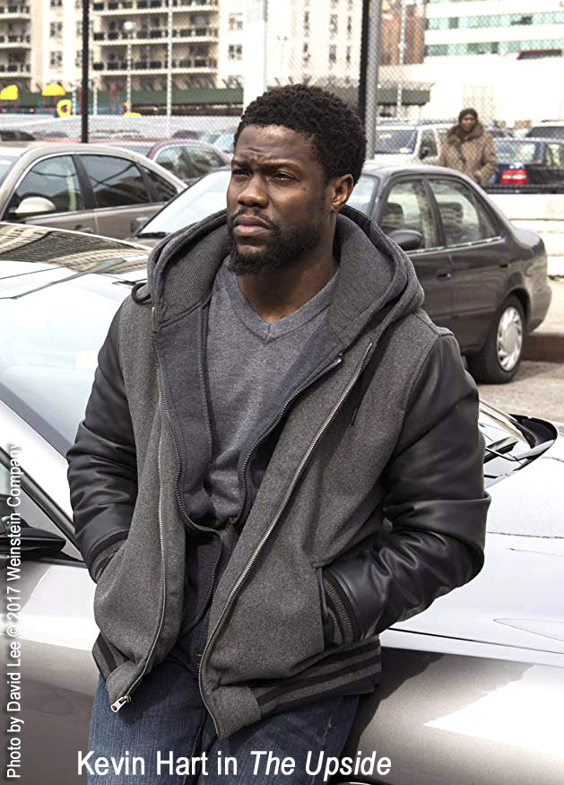 Kevin Hart in The Upside. Photo by David Lee/Weinstein Company