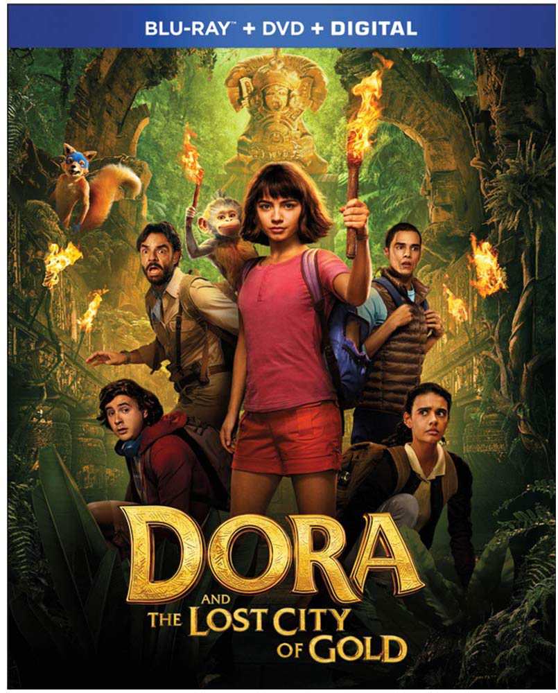 Dora and the Lost City of Gold on Blu-ray and DVD