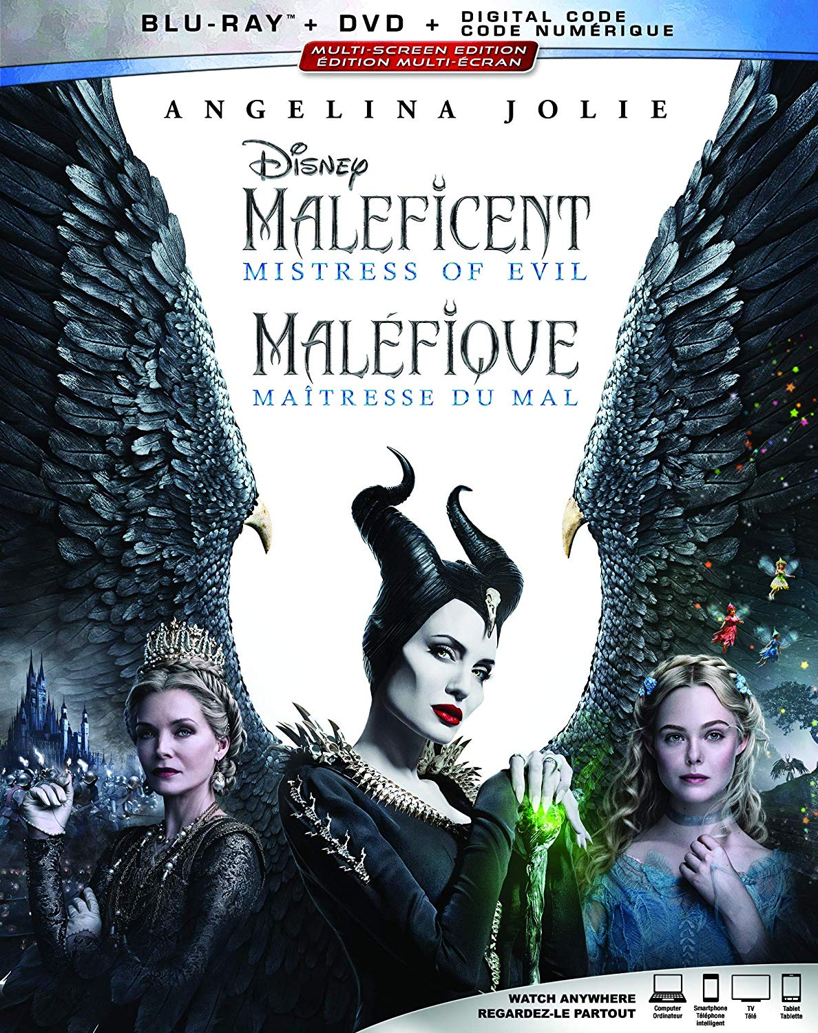 Maleficent: Mistress of Evil Blu-ray and DVD