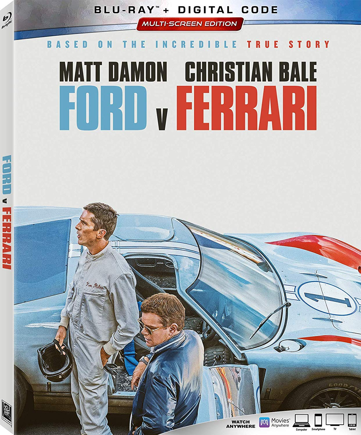 Ford v Ferrari now available on Blu-ray