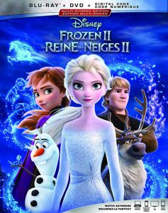 Frozen II on Blu-ray and DVD