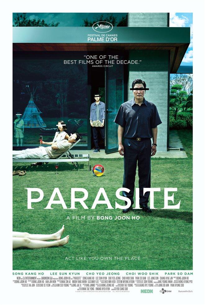 Parasite movie trailer