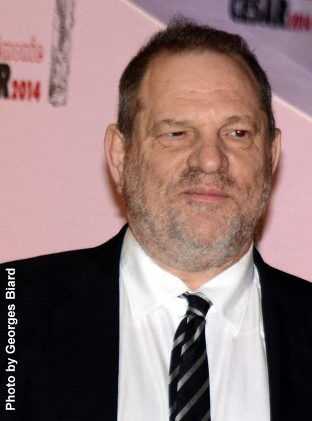 Harvey Weinstein Photo by Georges Biard