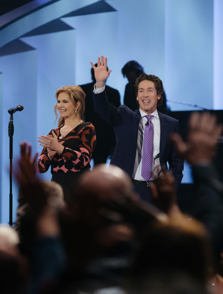 Victoria and Joel Osteen courtesy Lakewood Church