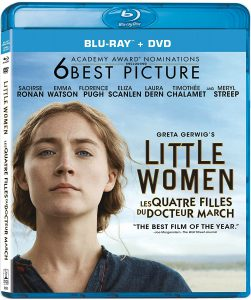 Little Women on Blu-ray and DVD