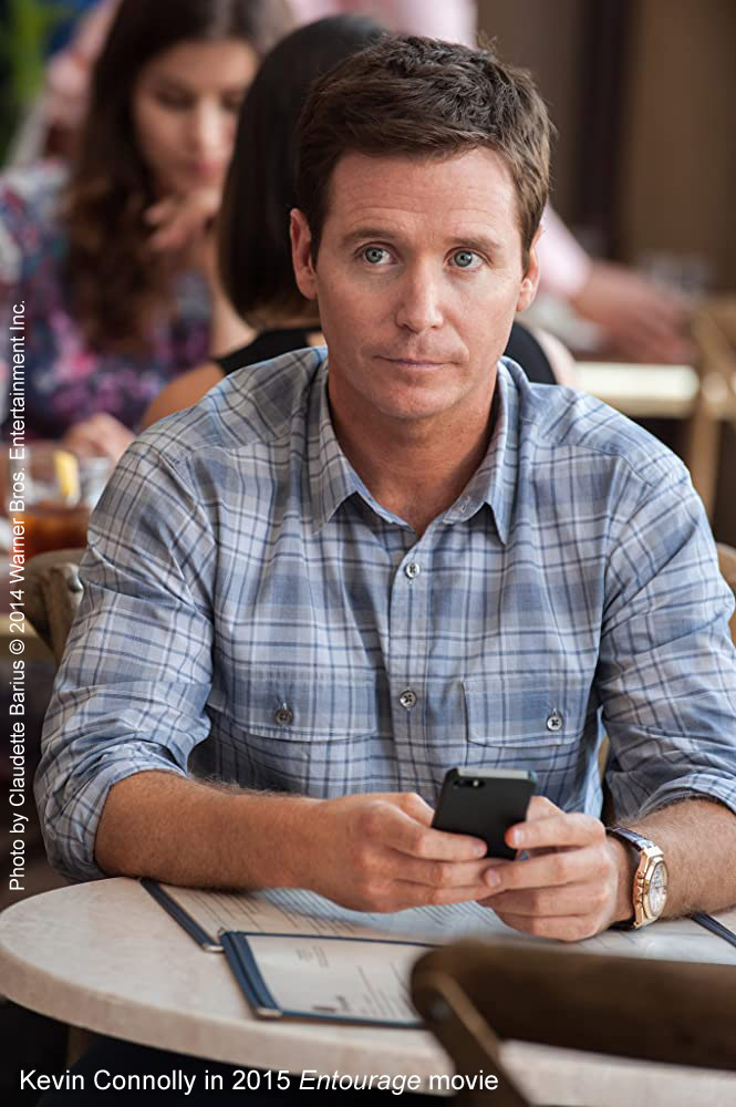 Kevin Connolly in Entourage movie
