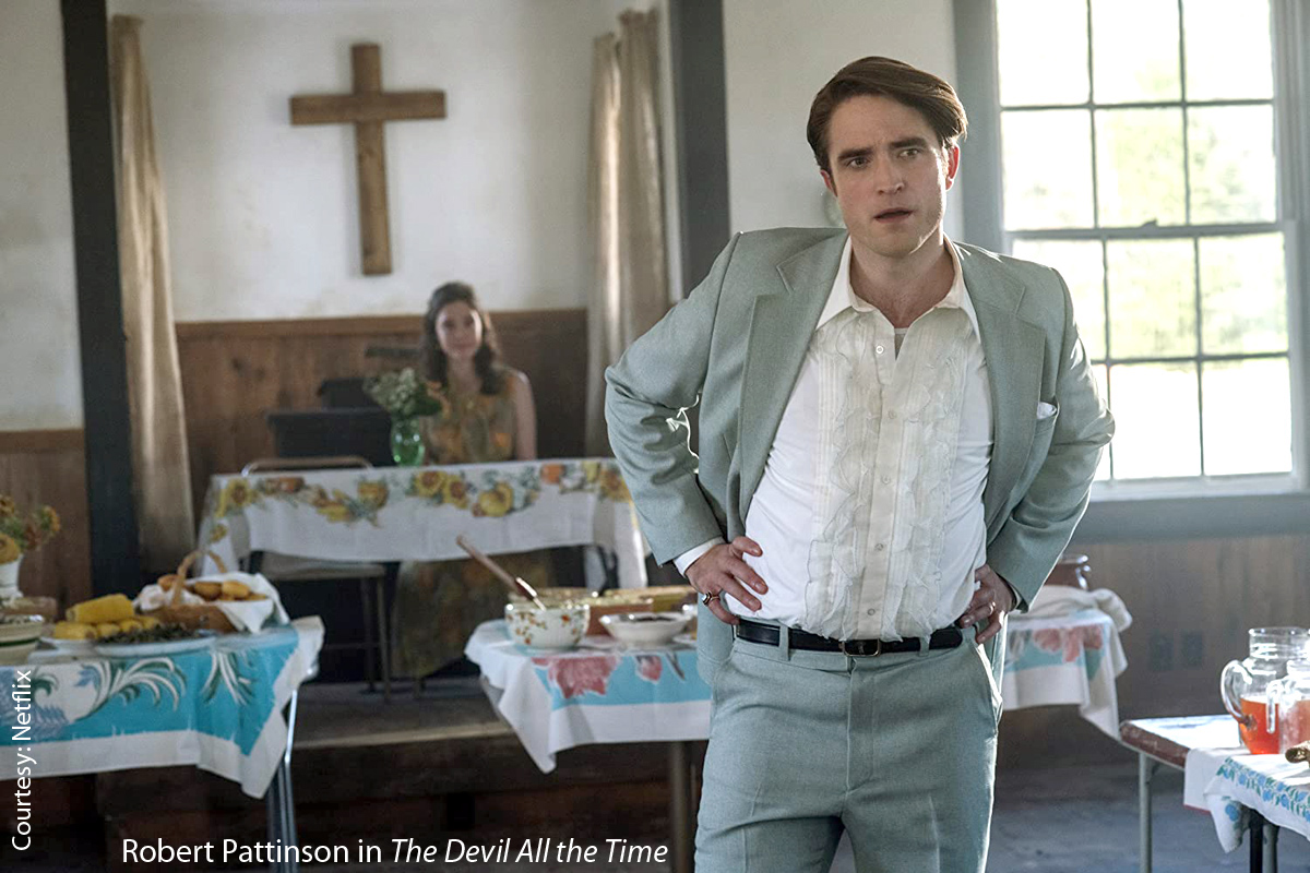 Robert Pattinson in The Devil all the Time