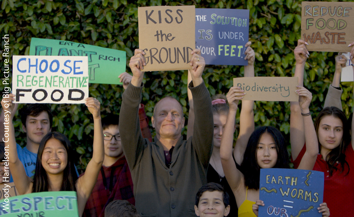 Woody Harrelson in Kiss the Ground