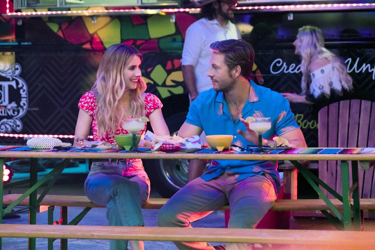 Holidate starring Emma Roberts and Luke Bracey