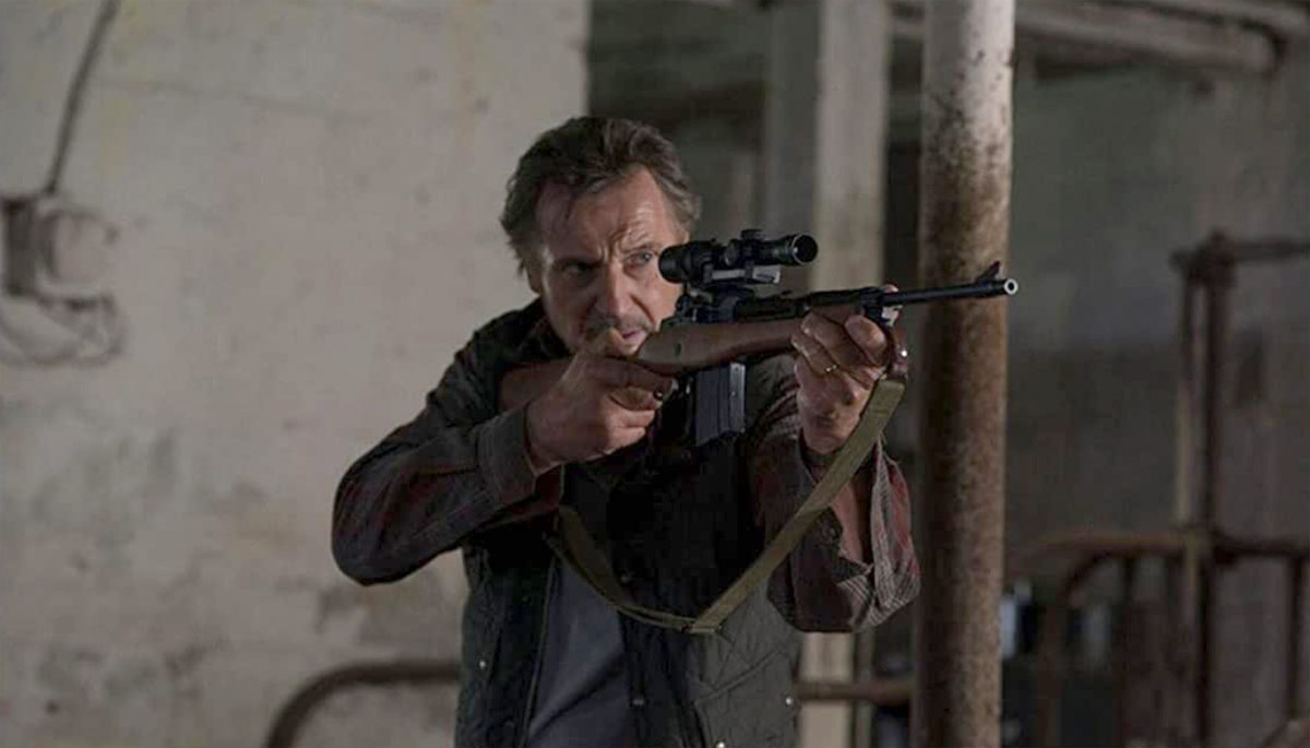 The Marksman starring Liam Neeson