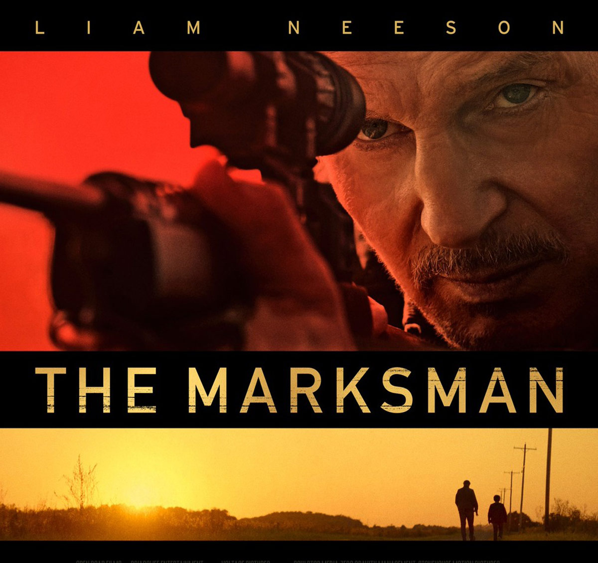 The Marksman starring Liam Neeson tops box office
