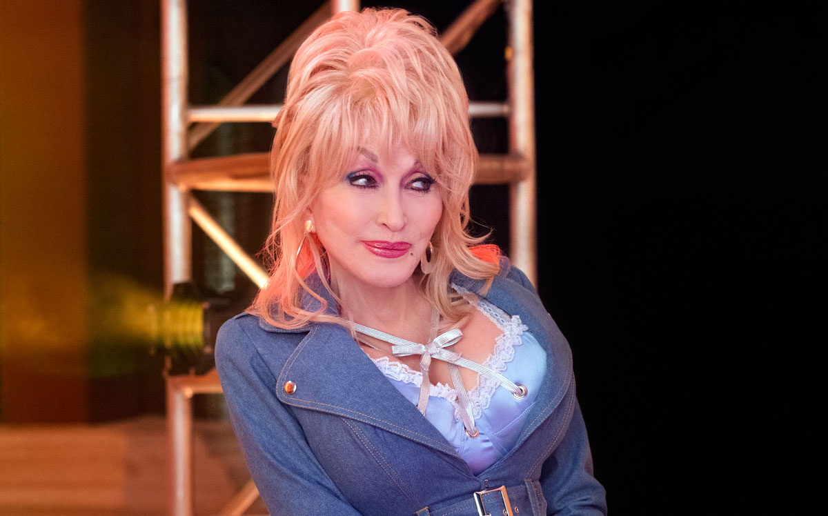 Dolly Parton in Dolly Parton's Heartstrings on Netflix