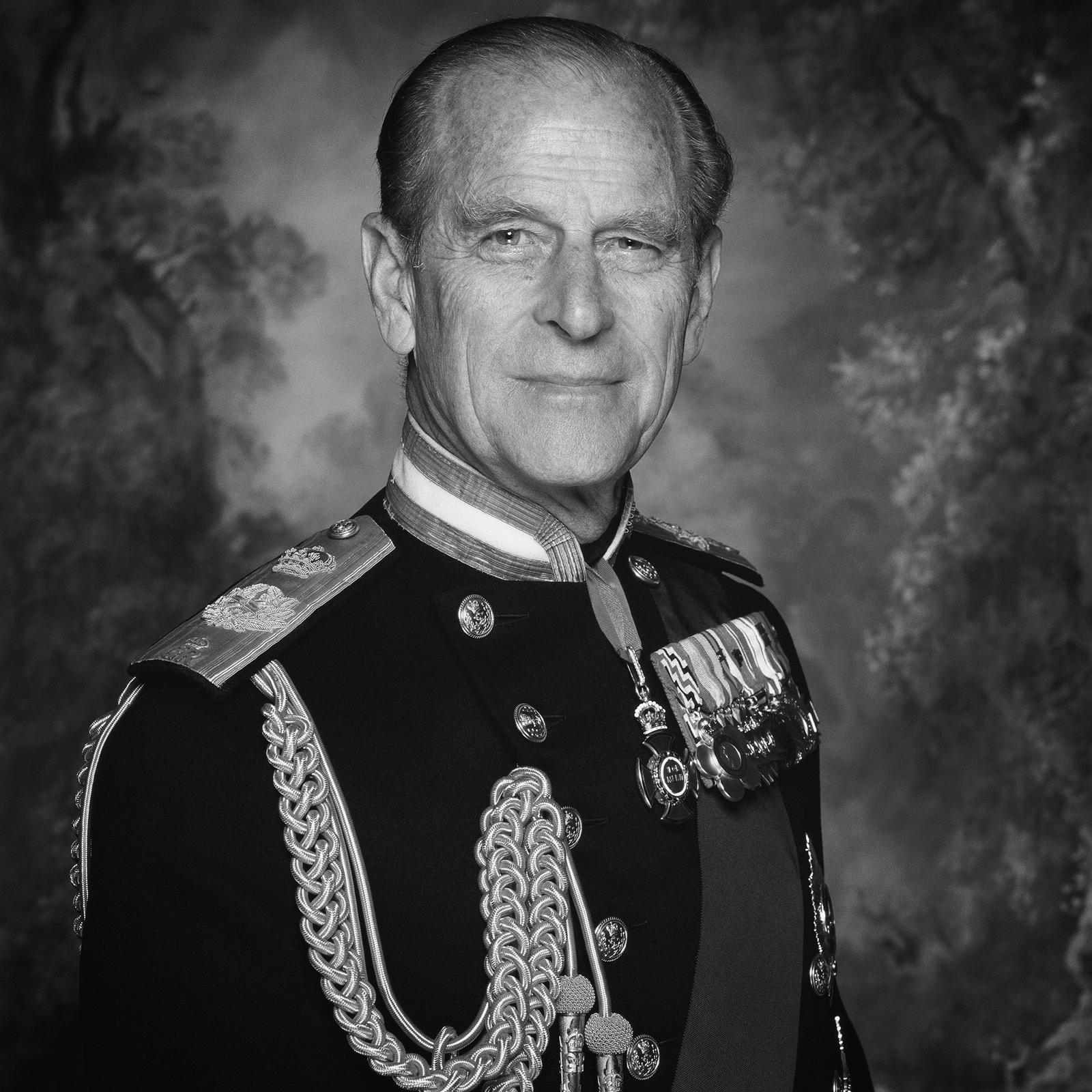 Prince Philip official portrait courtesy Buckingham Palace
