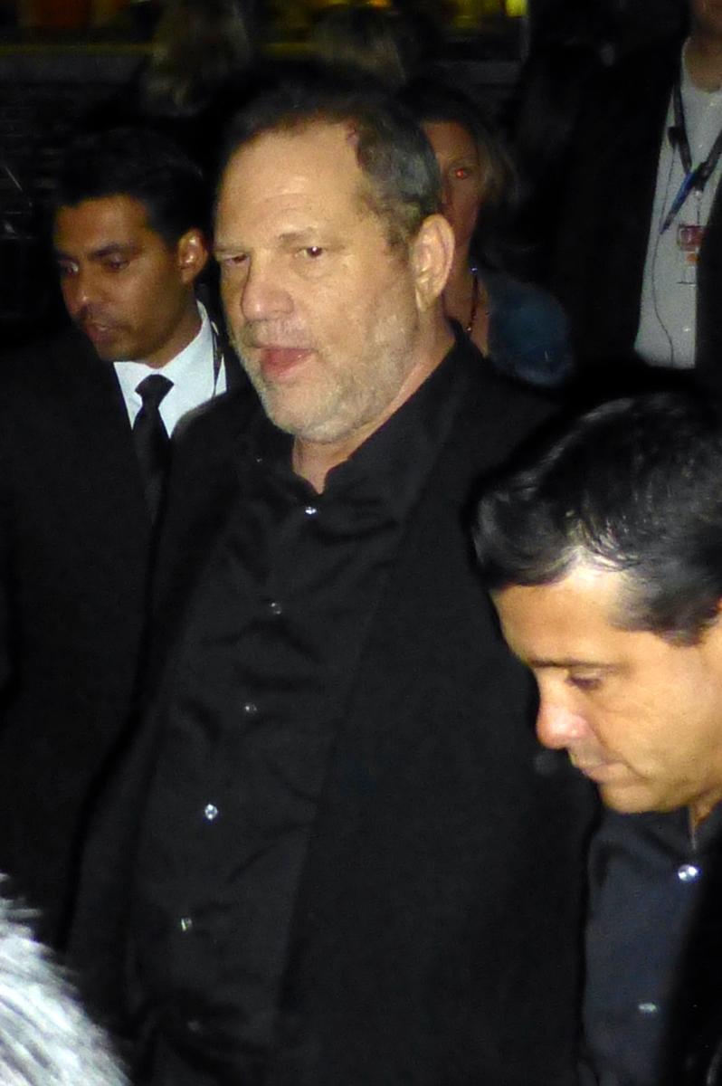 Harvey Weinstein at The Imitation Game premiere, 2014 TIFF. Photo by GabboT.