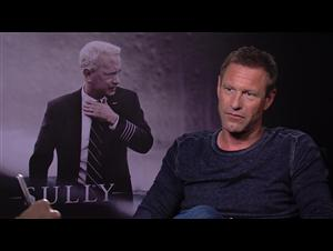 aaron-eckhart-interview-sully Video Thumbnail