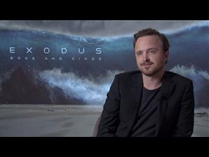 Aaron Paul (Exodus: Gods and Kings) Interview Video Thumbnail