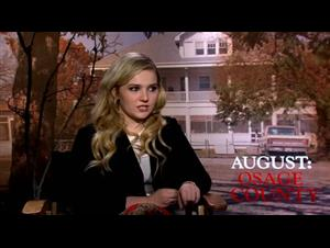 Abigail Breslin (August: Osage County) Interview Video Thumbnail