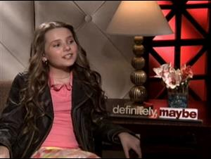 Abigail Breslin (Definitely, Maybe) Interview Video Thumbnail