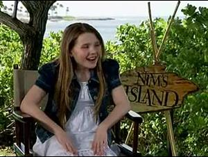 Abigail Breslin (Nim's Island) Interview Video Thumbnail