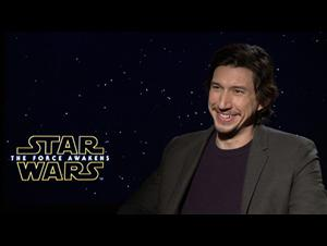 Adam Driver Interview - Star Wars: The Force Awakens Video Thumbnail