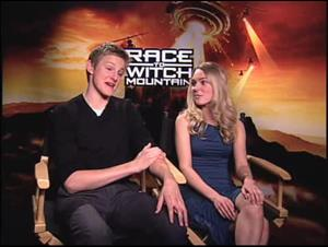 Alexander Ludwig & AnnaSophia Robb (Race to Witch Mountain) Interview Video Thumbnail