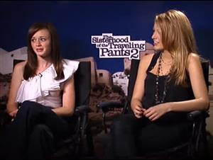 Alexis Bledel & Blake Lively (The Sisterhood of the Traveling Pants 2) Interview Video Thumbnail