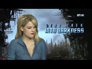 Alice Eve (Star Trek Into Darkness) Interview Video Thumbnail