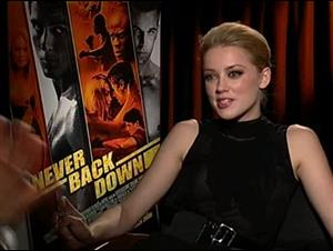 Amber Heard (Never Back Down) Interview Video Thumbnail