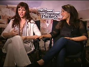 Amber Tamblyn & America Ferrera (The Sisterhood of the Traveling Pants 2) Interview Video Thumbnail