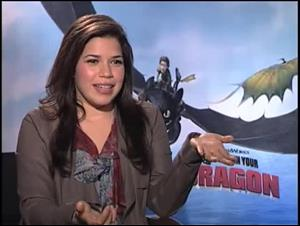 America Ferrera (How to Train Your Dragon) Interview Video Thumbnail