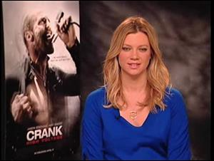 Amy Smart (Crank: High Voltage) Interview Video Thumbnail