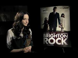 Andrea Riseborough (Brighton Rock) Interview Video Thumbnail
