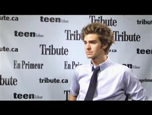 Andrew Garfield (The Imaginarium of Dr. Parnassus) Interview Video Thumbnail