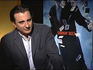 ANDY GARCIA (SMOKIN' ACES) Interview Video Thumbnail