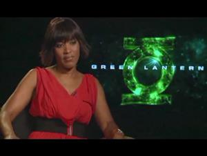 Angela Bassett (Green Lantern) Interview Video Thumbnail