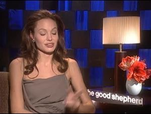 ANGELINA JOLIE (THE GOOD SHEPHERD) Interview Video Thumbnail