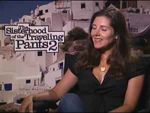 Ann Brashares (The Sisterhood of the Traveling Pants 2) Interview Video Thumbnail
