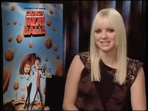 Anna Faris (Cloudy With a Chance of Meatballs) Interview Video Thumbnail