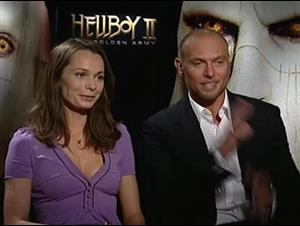 Anna Walton & Luke Goss (Hellboy II: The Golden Army) Interview Video Thumbnail