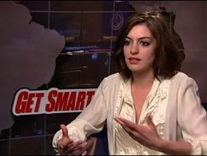 Anne Hathaway (Get Smart) Interview Video Thumbnail