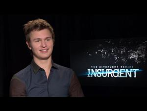 Ansel Elgort (The Divergent Series: Insurgent) Interview Video Thumbnail