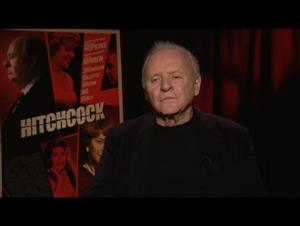 Anthony Hopkins (Hitchcock) Interview Video Thumbnail