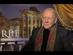 Anthony Hopkins (The Rite) Interview Video Thumbnail