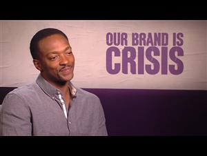 Anthony Mackie - Our Brand Is Crisis Interview Video Thumbnail