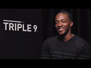 anthony-mackie-triple-9-interview Video Thumbnail