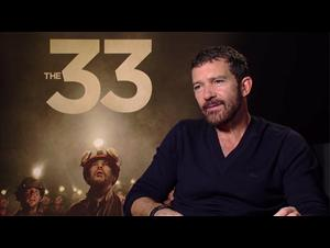 Antonio Banderas - The 33 Interview Video Thumbnail