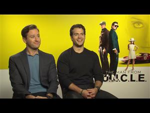 Armie Hammer & Henry Cavill - The Man from U.N.C.L.E. Interview Video Thumbnail