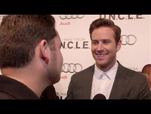 Exclusive: Armie Hammer - The Man from U.N.C.L.E. Red Carpet Video Thumbnail